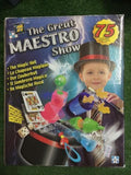 THE GREAT MAESTRO SHOW 75 Magic Tricks Kids Boys Girls Games Fun - The Bowerbirds Nest of Treasures