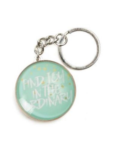 SPLOSH KEYRING Pastel Dreams Find Joy In The Ordinary Key Holder Gift - The Bowerbirds Nest of Treasures