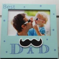 BEST DAD Photo Frame - the-bowerbirds-nest-of-treasures