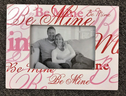 BE MINE Picture Photo Frame Home Decor Valentines Gift - The Bowerbirds Nest of Treasures