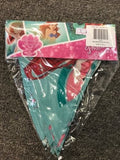 Disney Little Mermaid Bunting Flag Watermelon Scented - The Bowerbirds Nest of Treasures