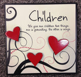 SPLOSH HEARTFELTS MOMENTS Inspirational Children Stand Alone Wall Hang Plaque - The Bowerbirds Nest of Treasures