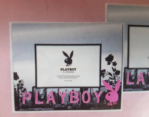 Playboy Bunny City Photo Picture Frame Bedroom Home Decor - The Bowerbirds Nest of Treasures