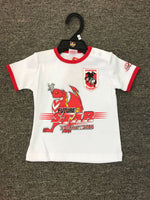 OFFICIAL LICENSED MASCOTS NRL DRAGONS KIDS FUTURE STAR T SHIRT SIZE 4 - The Bowerbirds Nest of Treasures