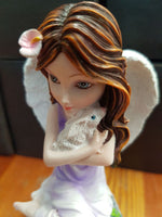 FAIRY WITH RABBIT TRINKET JEWELLERY BOX - The Bowerbirds Nest of Treasures