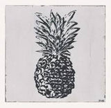 SPLOSH FIESTA PINEAPPLE CHARCOAL WOODEN WALL ART FOR HOME OFFICE DECOR - The Bowerbirds Nest of Treasures