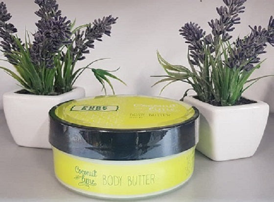 Pure Body Coconut & Lime Body Butter - the-bowerbirds-nest-of-treasures