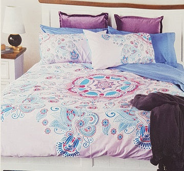 Bambury Serena King Bed Quilt Doona Duvet Cover Set - The Bowerbirds Nest of Treasures
