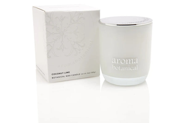 Aromabotanical Aromatherapy Coconut & Lime 185g Candle