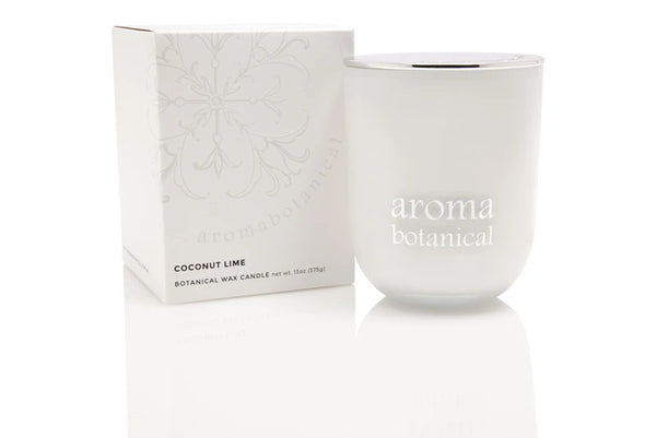 Aromabotanical Coconut Lime Candle 390g The Bowerbirds Nest of Treasures Afterpay availalbe