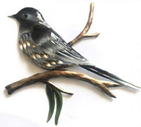 Willy Wagtail Metal Wall Art