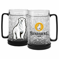 Bundaberg Rum EZY Freeze Beer Stein Cup Mug