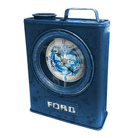 FORD Heritage Jerry Can Style Clock - The Bowerbirds Nest of Treasures