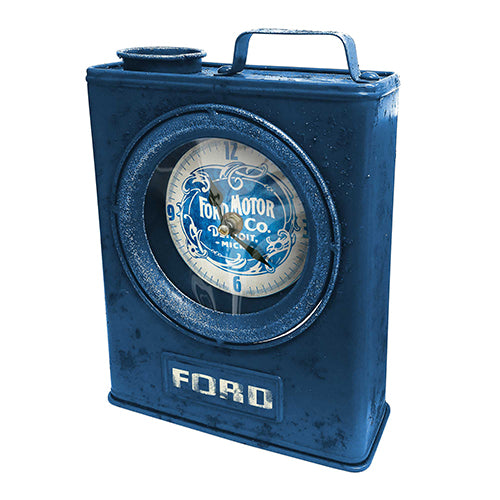 Ford Heritage Jerry Can Clock The Bowerbirds Nest of Treasures
