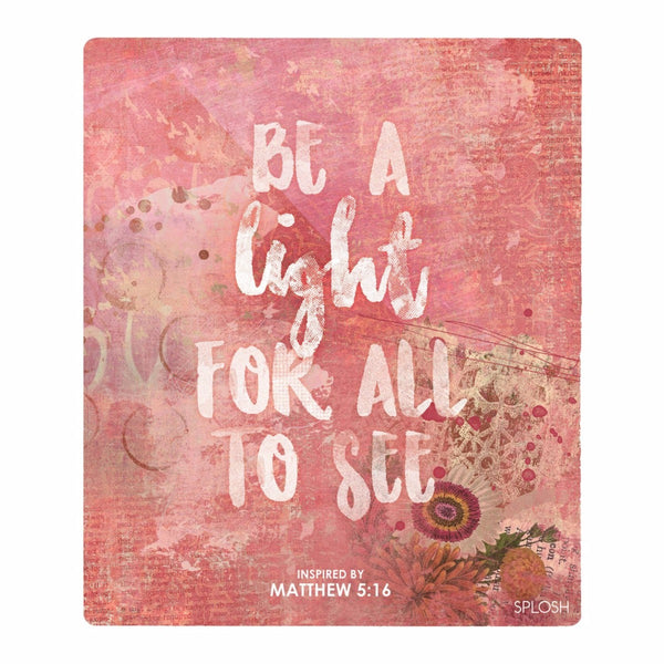 Splosh Have Faith Light Verse Inspirational Plaque Home Wall Decor - The Bowerbirds Nest of Treasures