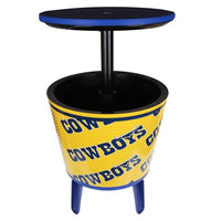 NRL Cooler Bar Table Panthers Sea Eagles Bulldogs Raiders Cowboys Warriors - The Bowerbirds Nest of Treasures