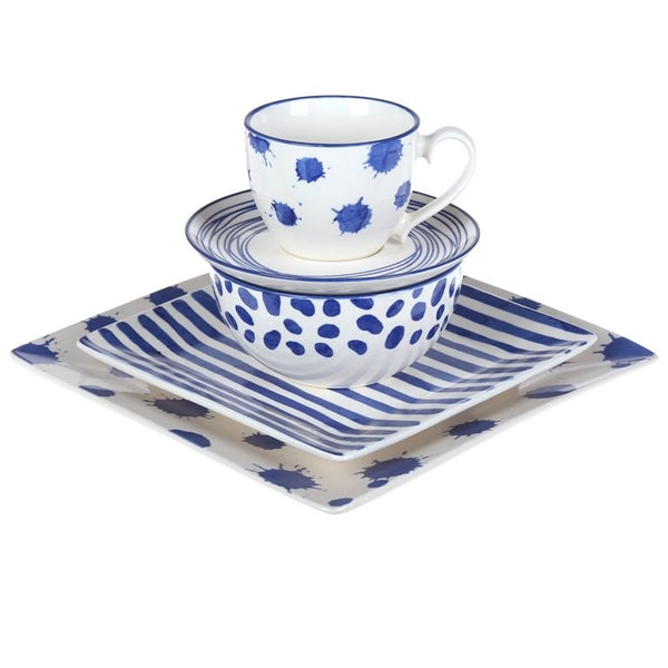Whitehaven Blue Dinnerware Set The Bowerbirds Nest of Treasures