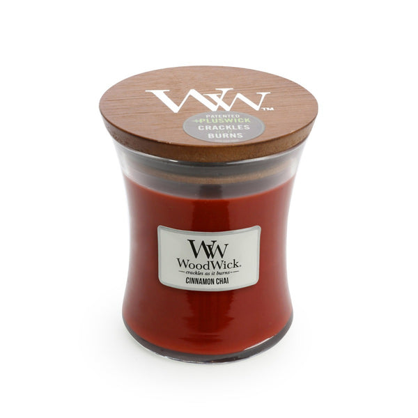 Cinnamon Chai Woodwick Candle Medium - The Bowerbirds Nest of Treasures