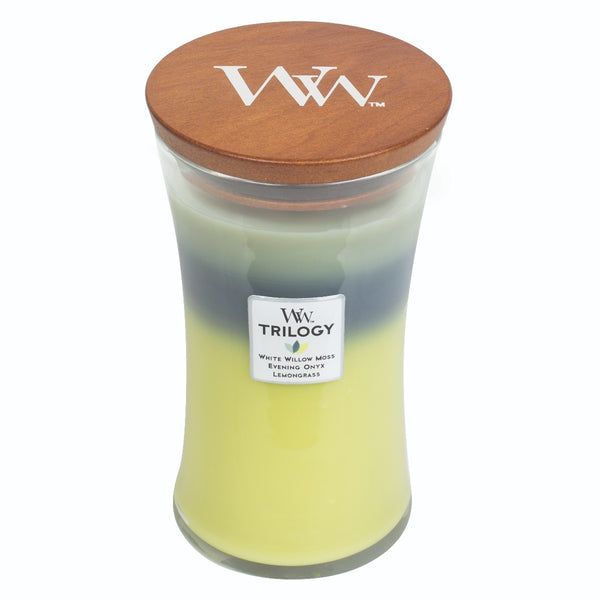 Woodwick Woodland Shade Trilogoy Candle ~ Large - The Bowerbirds Nest of Treasures