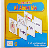 Match-It All About Me Body Parts Puzzle Set - The Bowerbirds Nest of Treasures