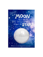 Shoot for the Moon Bath Bomb Greeting Card