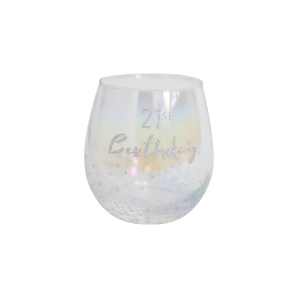 Splosh Celebration DIY Stemless Wine Glass - The Bowerbirds Nest of Treasures