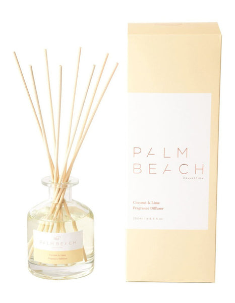 Palm Beach Coconut & Lime Reed Diffuser Fragrance The Bowerbirds Nest of Treasures Warragamba