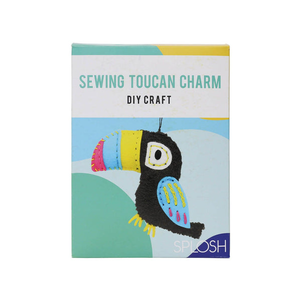 DIY Craft Sewing Charm - Toucan - The Bowerbirds Nest of Treasures