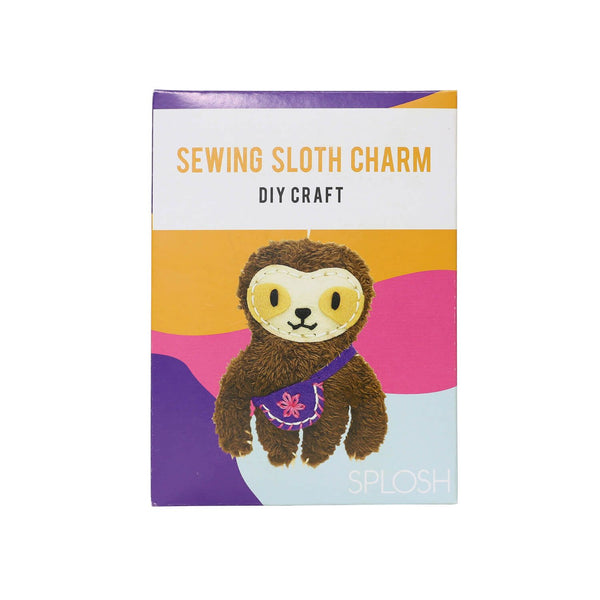 DIY Craft Sewing Charm - Sloth - The Bowerbirds Nest of Treasures