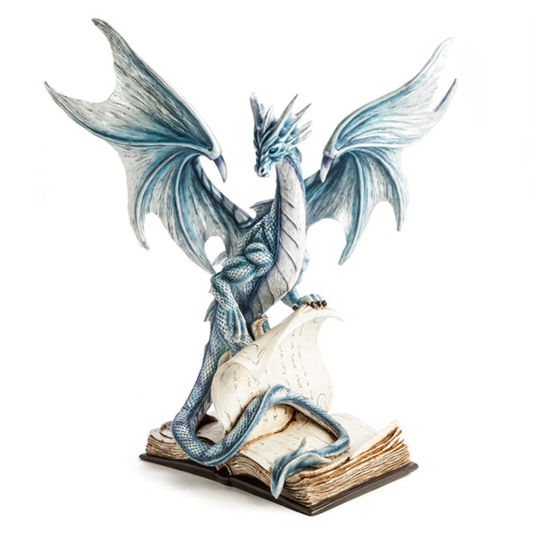 Dragon Standing on Ancient Book