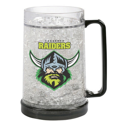 NRL Canberra Raiders Ezy Freeze Mug The Bowerbirds Nest of Treasures Warragamba