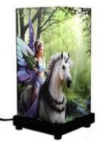 ANNE STOKES Realm of Enchantment TABLE LAMP LIGHT HOME DECOR LIGHTING RRP: $54 - the-bowerbirds-nest-of-treasures