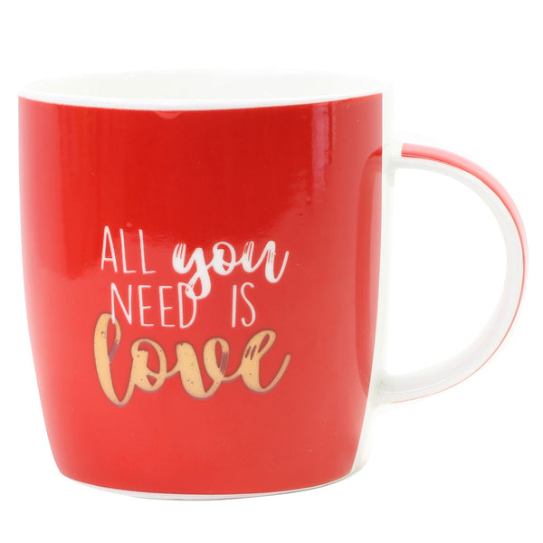 All You Need is Love Coffee Mug - The Bowerbirds Nest of Treasures