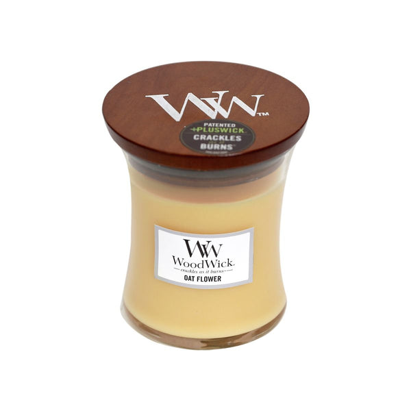 Oat Flower Woodwick Candle Medium - The Bowerbirds Nest of Treasures