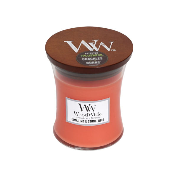 Tamarind & Stonefruit Woodwick Candle Medium - The Bowerbirds Nest of Treasures