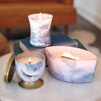 Sea Salt Magnolia Woodwick Artisan Gallerie Candle - The Bowerbirds Nest of Treasures