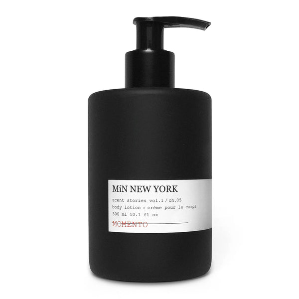 MiN New York Momento Body Lotion Chad Murawczyk Pendry Hotels & Resorts Amenity