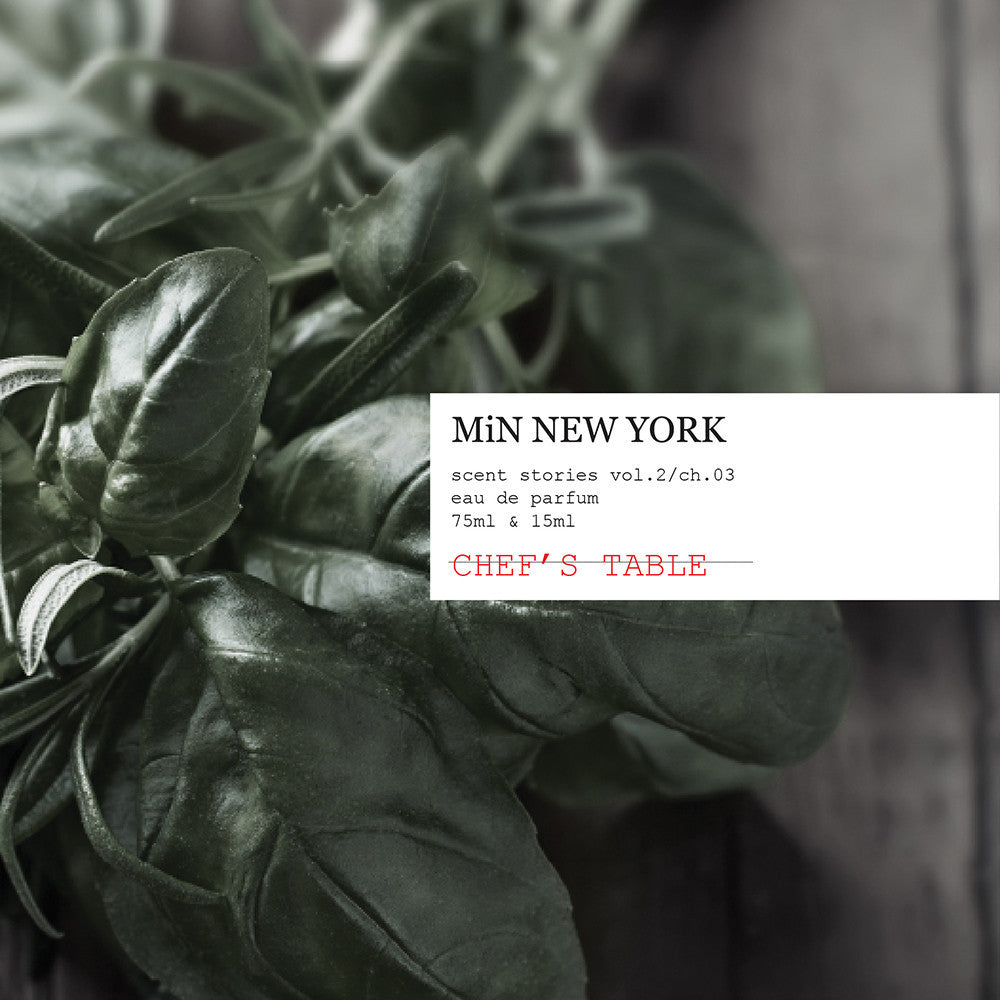 MiN New York Scent Stories Chef's Table Perfume Chad Murawczyk