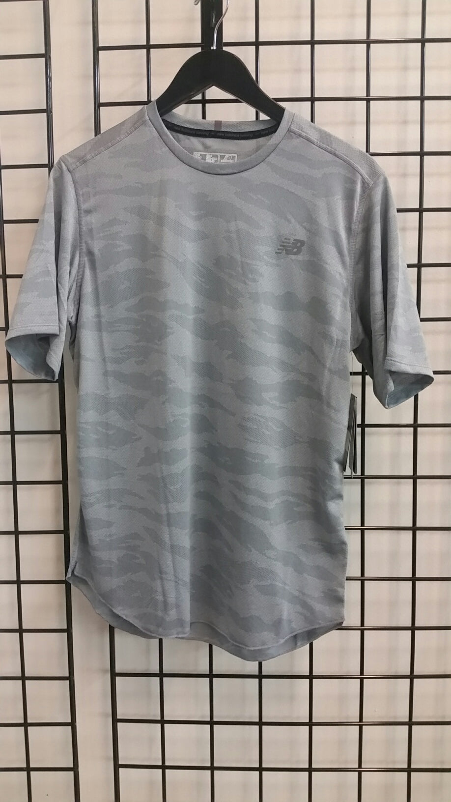 Q Speed Breathe Short Sleeve (M) - Athletic Grey