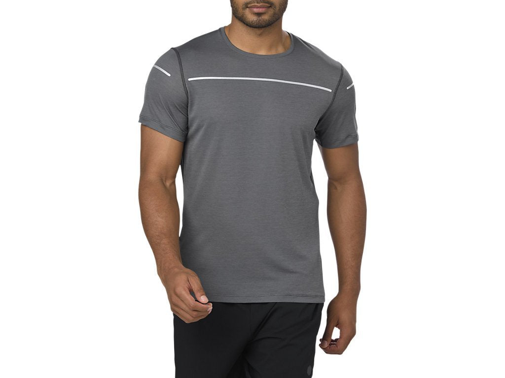 Lite Show Short Sleeve Top (M) - Dark Grey