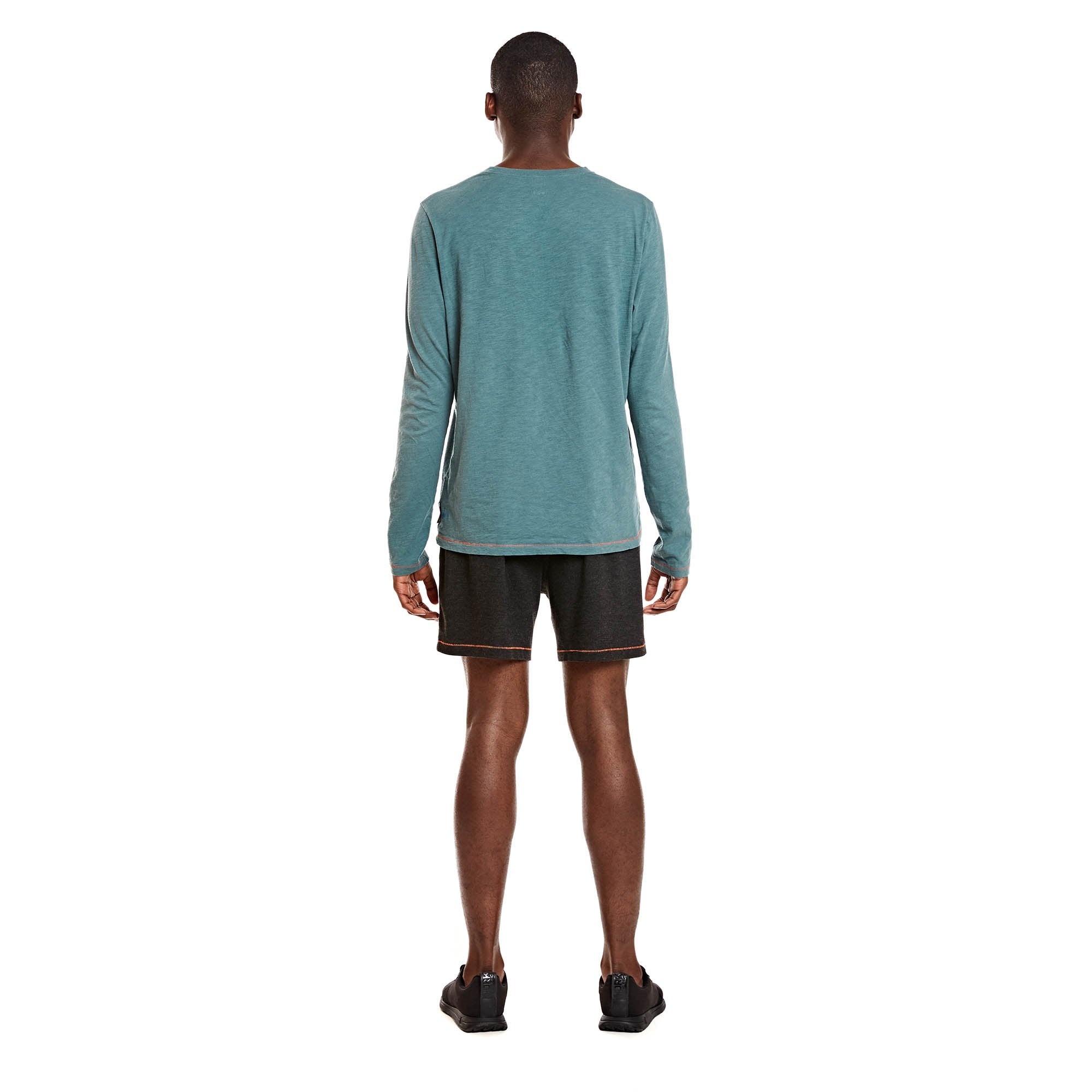 Alpaca Blend Long Sleeve (M) - Sea Pine