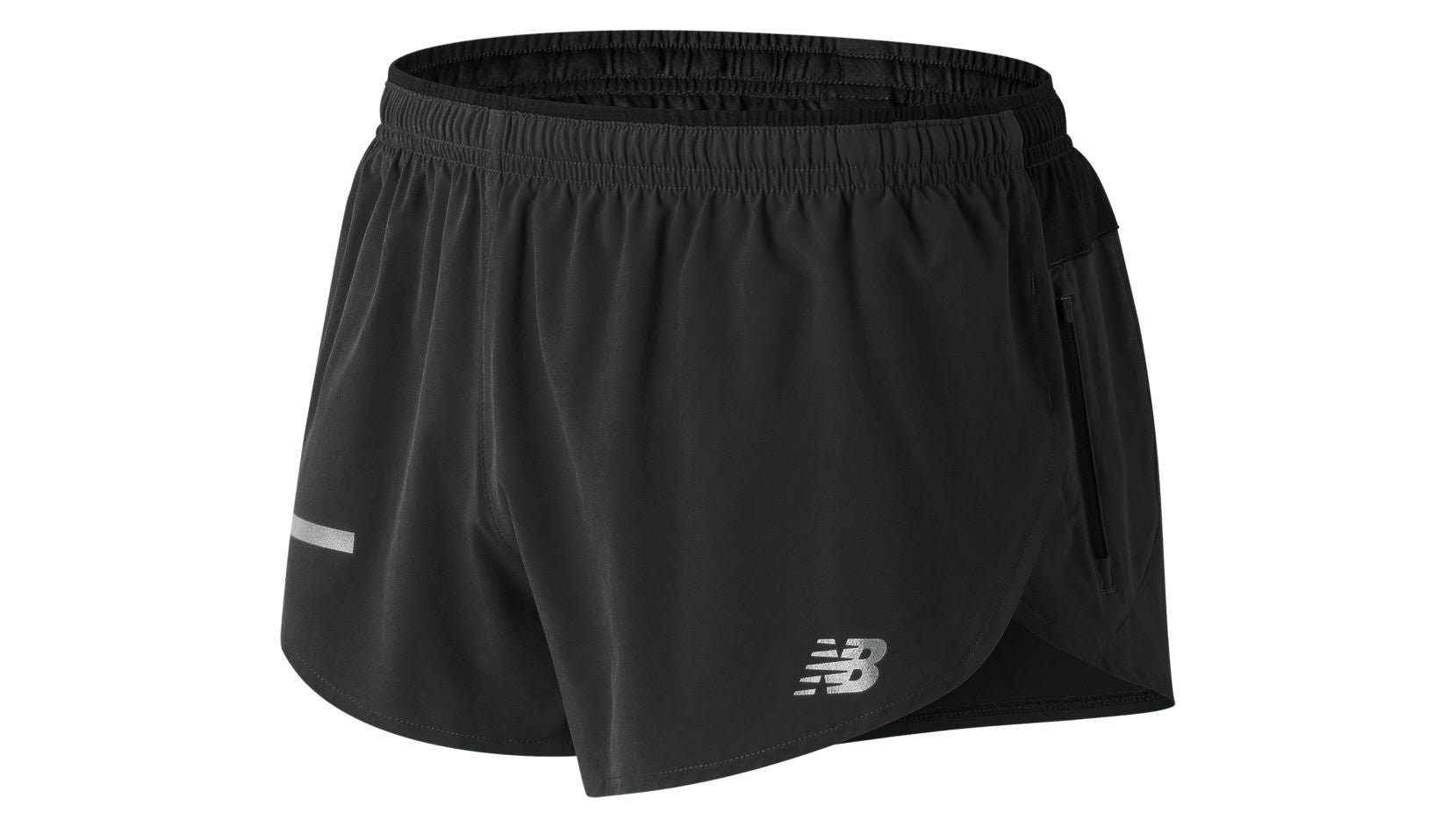 NB Impact Split Short (M) - BK (Black)