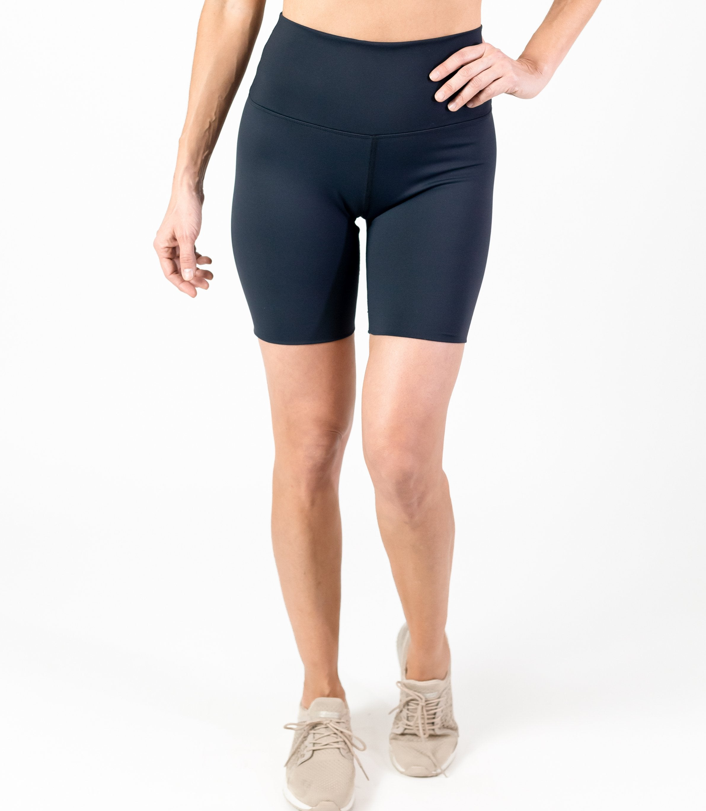 Seamless 7 IN Shorts (W) - Black