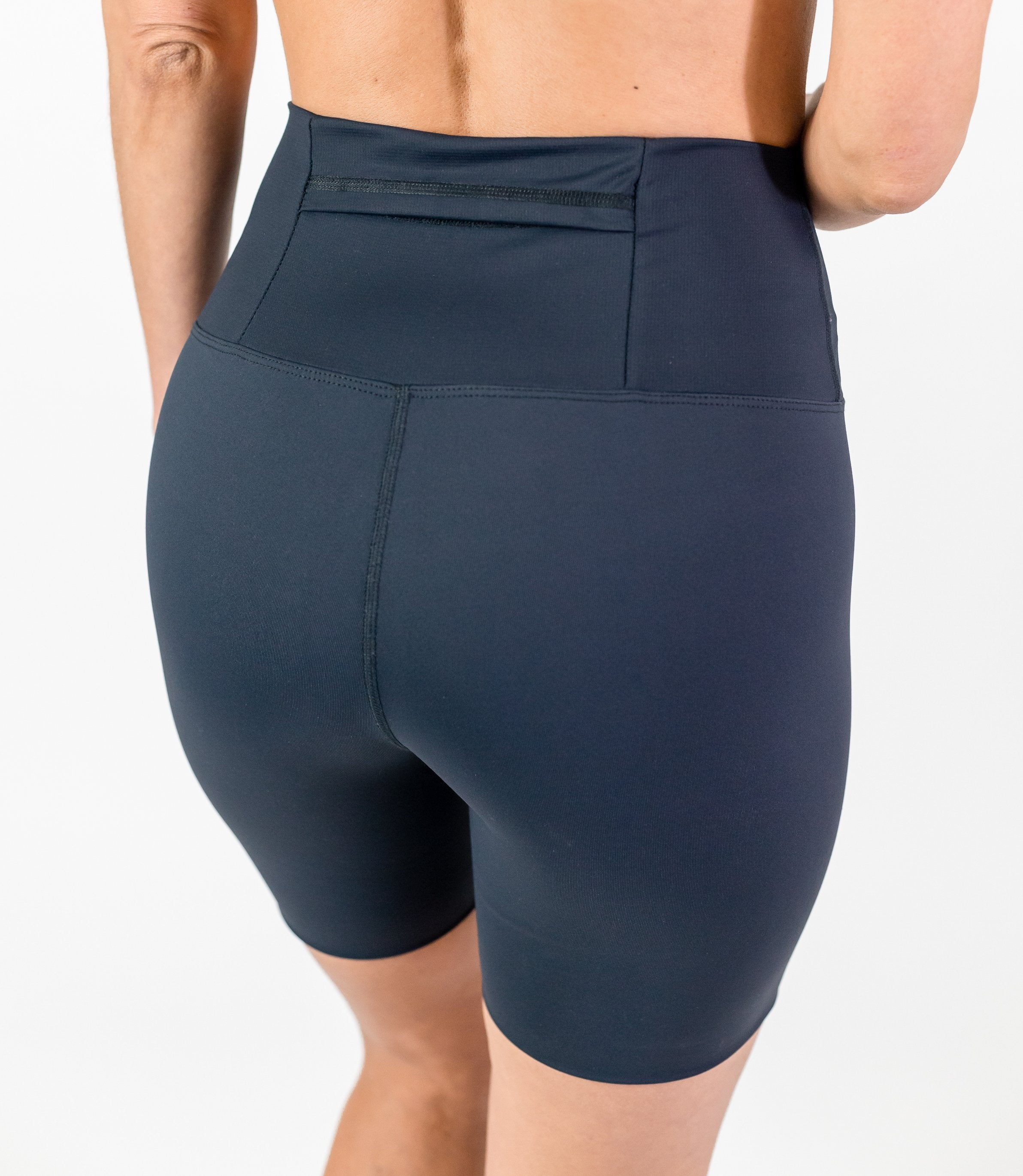 "Classic Seamless 5"" Shorts (W) - Black"