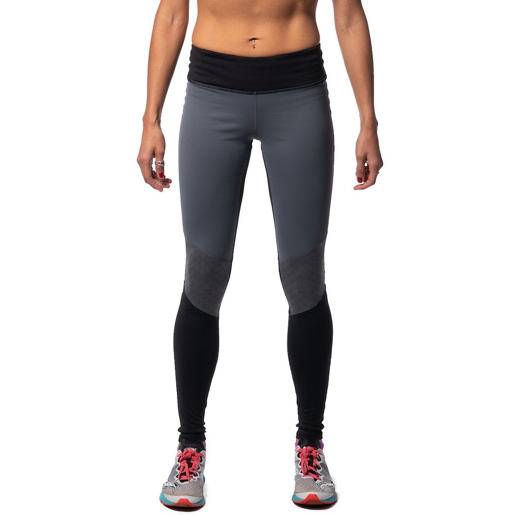 Mighty Tights (W) - Black/Iron Gate