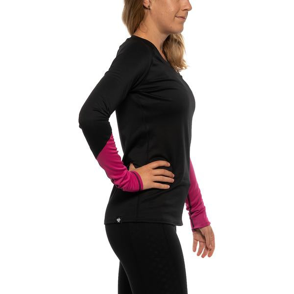 Slim Sleeves (W) - Black/Very Berry