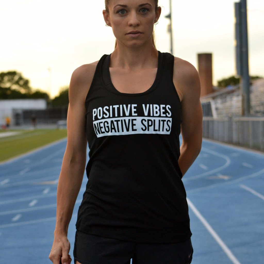 Positive Vibes Negative Splits (W) - Black