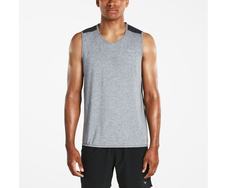 Freedom Sleeveless - Dark Grey/Heather