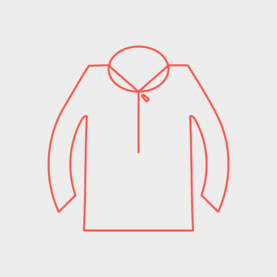 Novelty Anticipate Half Zip (W) - Sea Salt