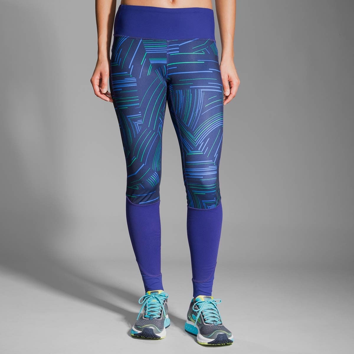 Threshold Tight Wmns - Navy/Cosmo Marine